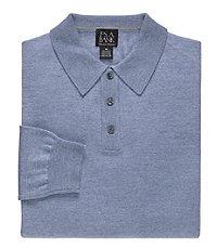 Signature Merino Wool Polo Sweater