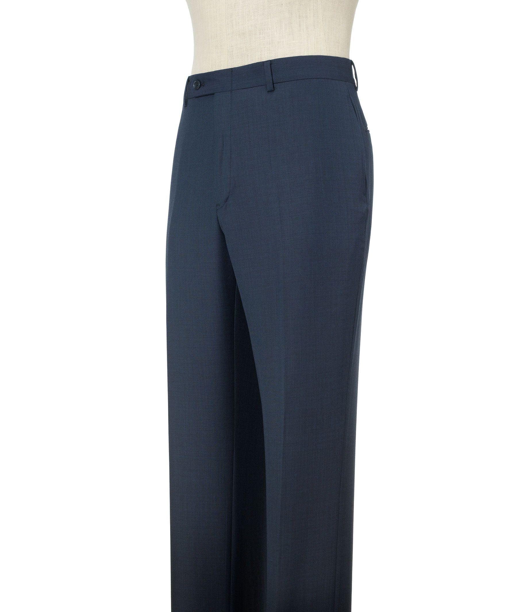 Tommy Hilfiger Wool Suit Separates Plain Front Pants