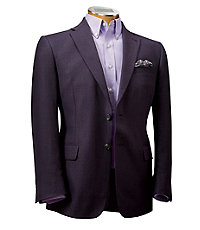 Signature Tailored Fit 2 Button Wool/Linen/Silk Sportscoat