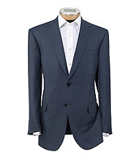 Signature Tailored Fit Imperial Blend Pattern Sportcoat