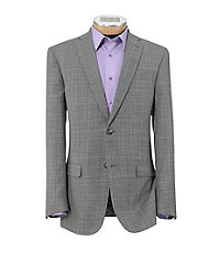 Joseph Slim Fit 2 Button Pattern Sportcoat