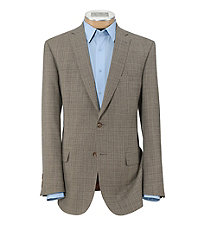 Joseph Slim Fit 2 Button Pattern Sportcoat Extended Sizes