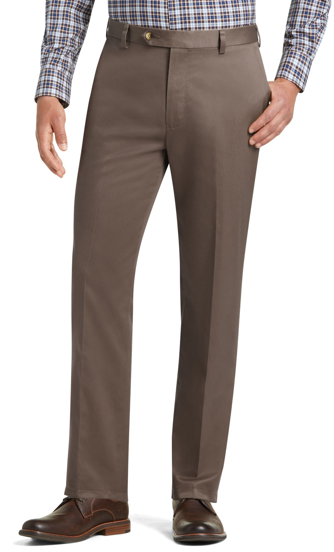 Men&39s Wrinkle Free Khakis &amp Twill Pants | Traveler Collection
