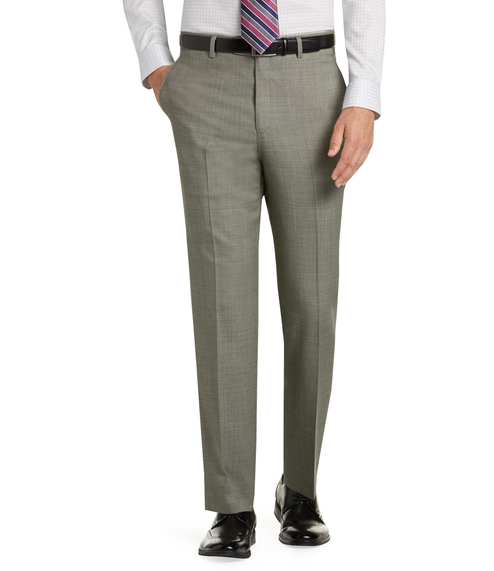 Tailored Fit Dress Pants | Men's | JoS. A. Bank Clothiers