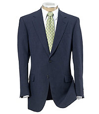 Tailored Fit Tropical Blend Sportcoat Extended Sizes