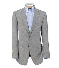 Tropical Blend 2-Button Linen/Wool Sportcoat- Regal Sizes