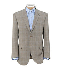 Signature Tailored Fit 2 Button Wool Sportcoat