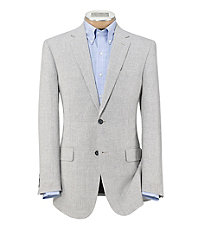 Tropical Tailored Fit Pattern Sportcoat Big and Tall