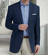 Traveler Tailored Fit 2-Button Blazer