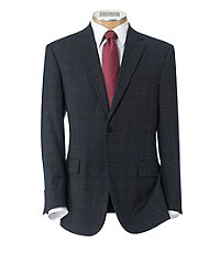 Traveler Tailored Fit 2 Button Suit with Plain Front Trousers