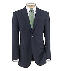 Traveler Tailored Fit 2 Button Suit with Plain Front Trousers Extended