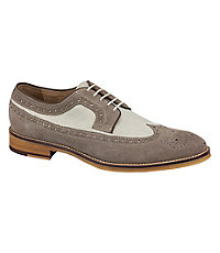 Conard Wingtip Shoe by Johnston and Murphy $155.00 AT vintagedancer.com