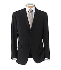Crossover Slim Fit 2 Button Suit with Plain Front Trousers Extended Sizes