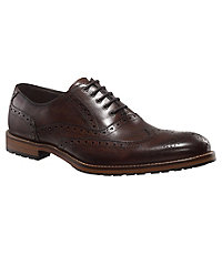 Wheaton Wing Lug Shoe by Joseph Abboud
