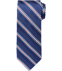 Executive Trapped Stripe Tie $49.50 AT vintagedancer.com