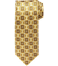 Signature Geometric Ovals Tie $79.50 AT vintagedancer.com