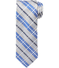 Joseph Silk Melange Plaid Tie