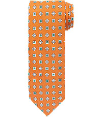 Heritage Collection Small Medallion Print Tie