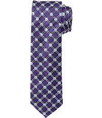 Joseph Slim Circle Grid Tie