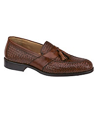 Stratton Woven Tassel Shoe by Johnston & Murphy