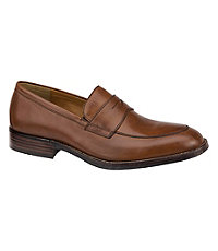 Beckwith Penny Shoe by Johnston & Murphy Men's Shoes - 12 D Width, Tan