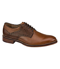 Rockabilly Men's Clothing Conard Saddle Shoe by Johnston and Murphy Mens Shoes -  $155.00 AT vintagedancer.com