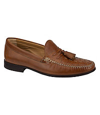 Cresswell Woven Tassel Shoe by Johnston and Murphy