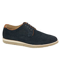 Campton Perfed Lace-up Shoe by Johnston and Murphy