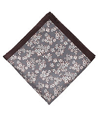 Floral Pattern Pocket Square