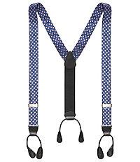 Men's Vintage Style Suspenders Diamond Patterned Braces $29.98 AT vintagedancer.com