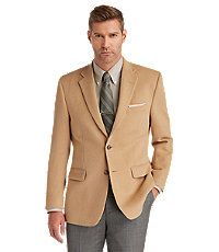 Executive 2-Button Camelhair Blazer