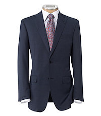 Signature Gold 2-Button Superfine Wool Suit with Plain Trousers