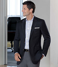 Signature 2-Button Tailored Fit Blazer