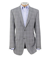 Signature 2 Button Tailored Fit Patterned Regal Sportcoat