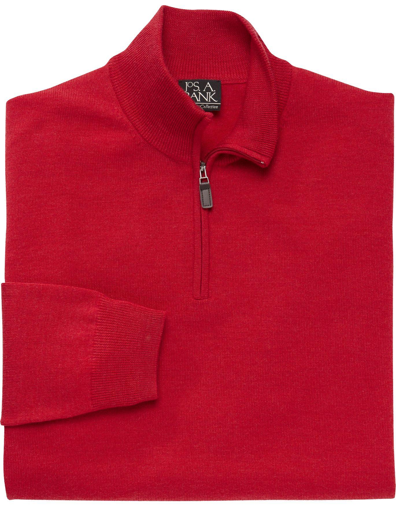 Traveler Collection Merino Wool Quarter-Zip Sweater - Merino Wool ...