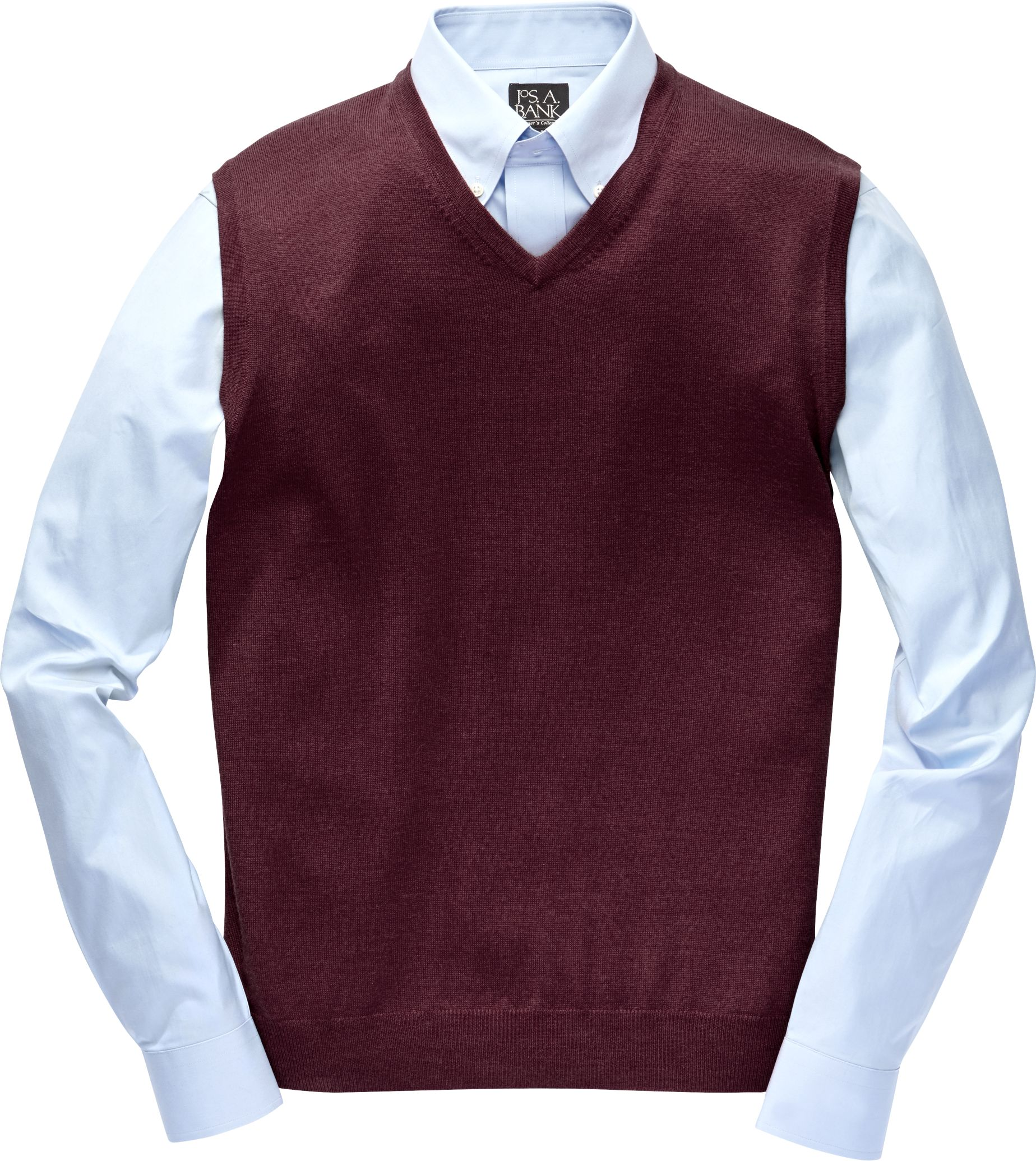 Traveler Collection Merino Wool Sweater Vest - Merino Wool ...