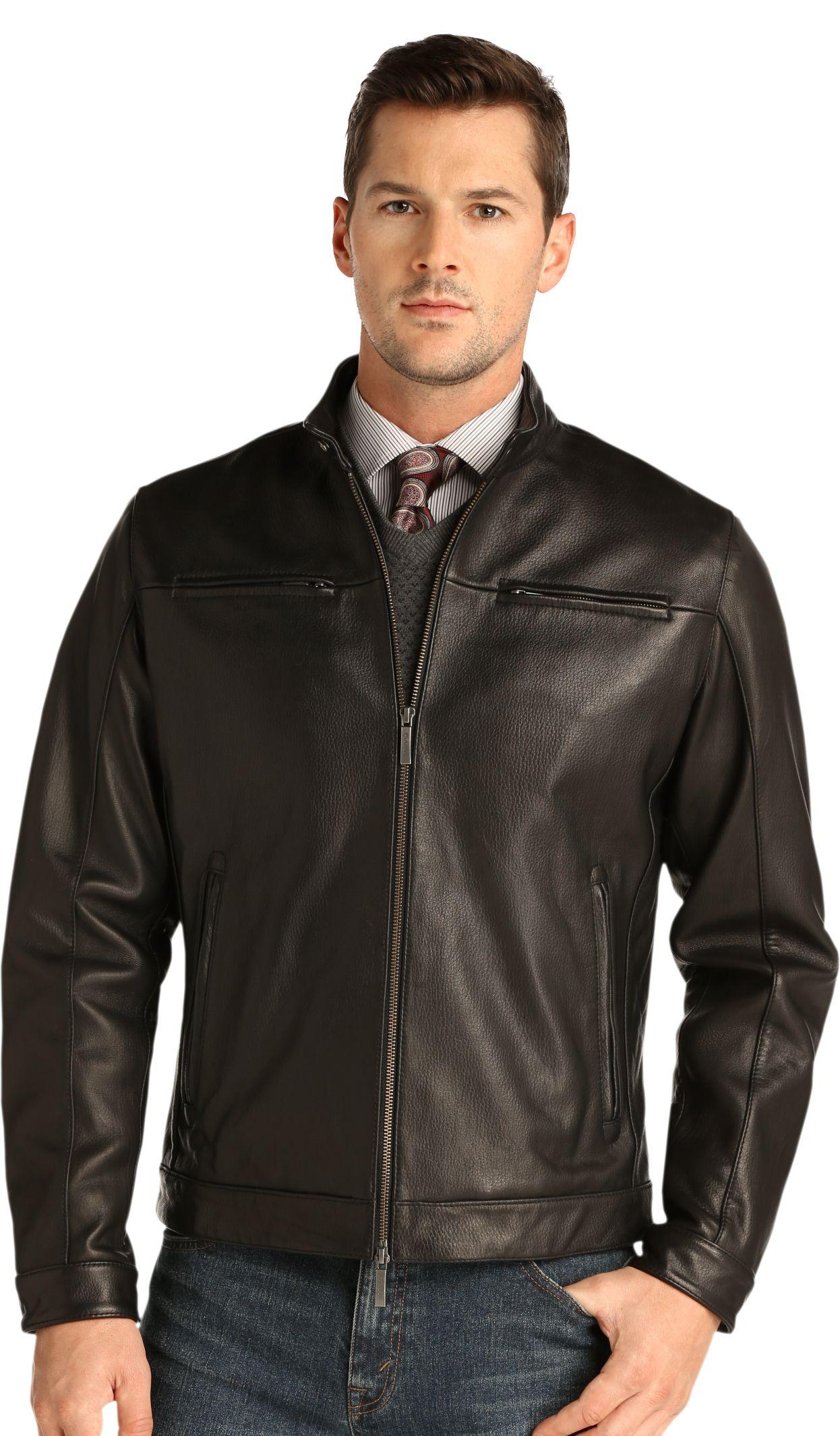 Leather jacket for men - Mens Leather Jackets H M Modern Fashion Jacket Photo Blog