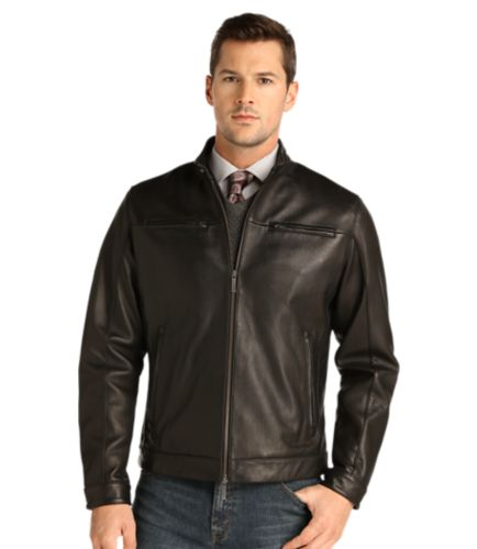 Jos. A. Bank Signature Collection Traditional Fit Leather Jacket