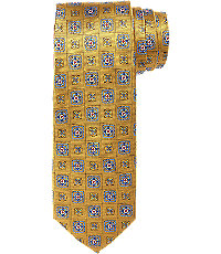 Executive Neat Medallions Tie $49.50 AT vintagedancer.com
