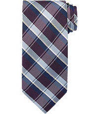 Classic Collection Factory Silk Plaid Tie $29.99 AT vintagedancer.com