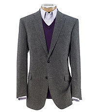 Executive 2 Button Fleece Rich Sportcoat Big and Tall
