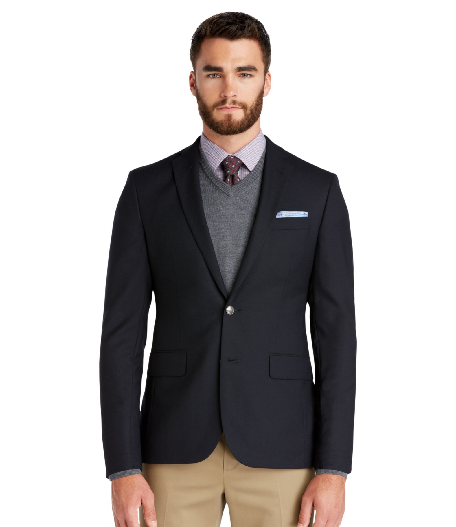 Blue Blazer Mens Baggage Clothing