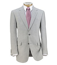 Tropical Blend 2-Button Linen/Wool Sportcoat Big and Tall