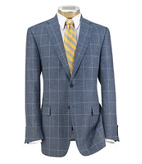 Signature 2-Button Patterned Sportcoat Extended Sizes $755.00 AT vintagedancer.com