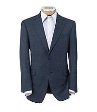 Executive 2-Button Patterned Sportcoat Big and Tall Sizes