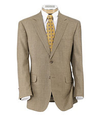 Executive 2-Button Wool Sportcoat Big and Tall Sizes