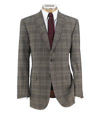 Joseph 2 Button Tailored Fit Plaid Sportcoat Big and Tall Sizes $655.00 AT vintagedancer.com