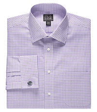 Executive Tailored Fit Spread Collar Dress Shirt Big and Tall Sizes