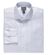 Signature Spread Collar Barrel Cuff Tailored Fit Big and Tall Dress Shirt