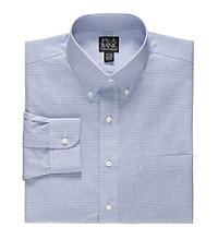 Traveler Slim Fit Buttondown Collar Dress Shirt Big and Tall Sizes